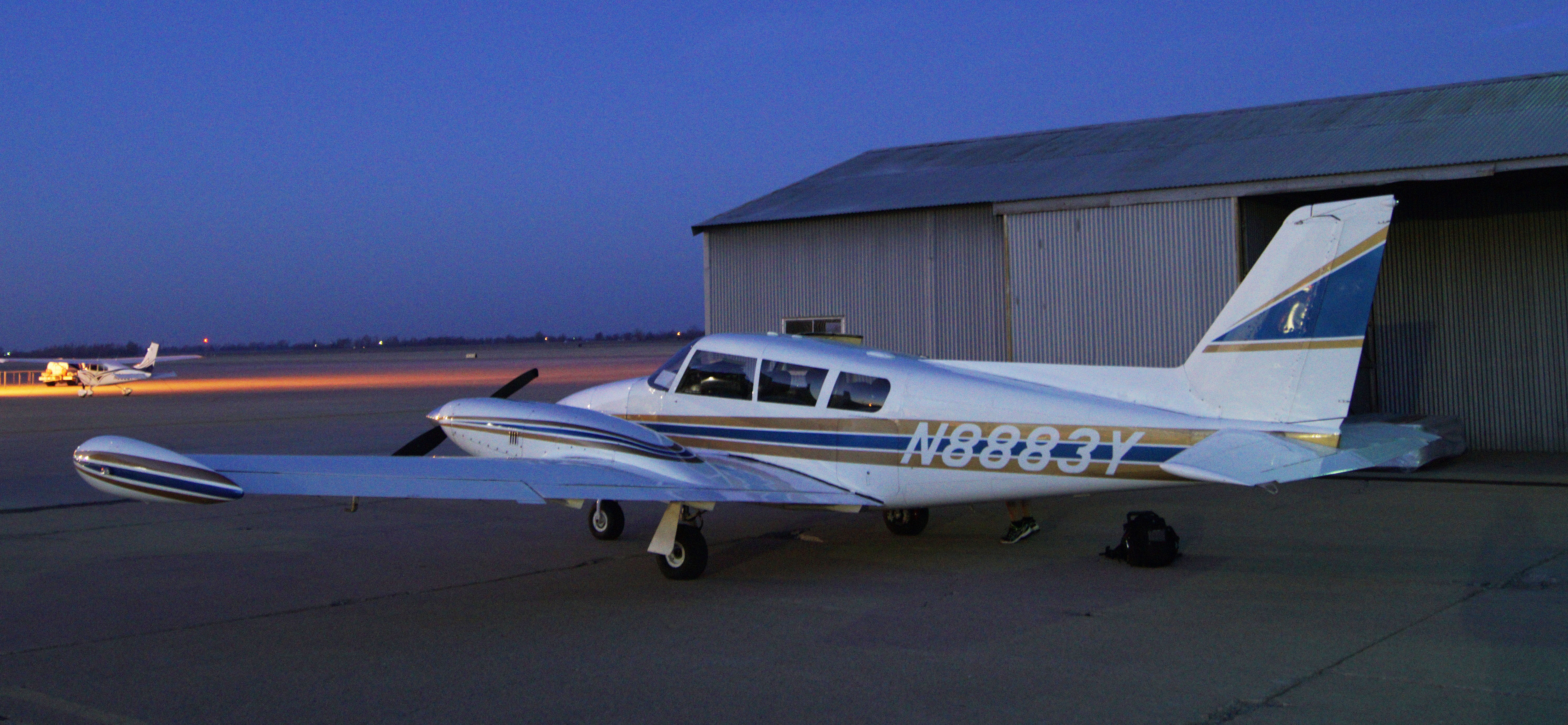 Twin Comanche Turbo >> Aircraft Centerline Aviation Llc